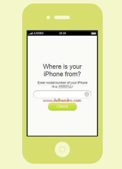 Cek Hp Iphone 4 cara cek iphone asli atau replika menggunakan iphonefrom