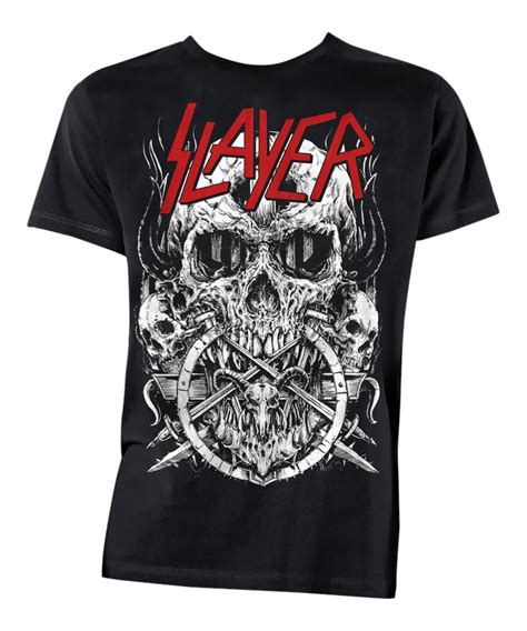 Slayer Tshirt Mens slayer skulltagram mens t shirt