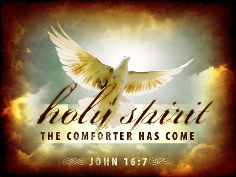 the comforter has come hymn a joyful noise passover to pentecost
