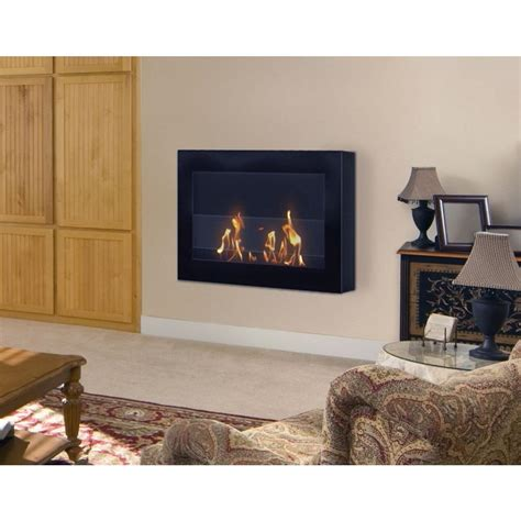 vent free ethanol fireplace anywhere fireplace soho 28 in wall mount vent free