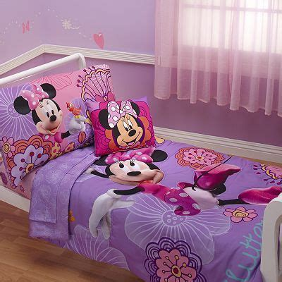 Disney Mickey Mouse Friends 4 Pc Minnie Mouse Bed Set And Friends Bed Set