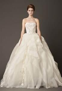 dressybridal vera wang fall 2013 ruffled wedding gowns