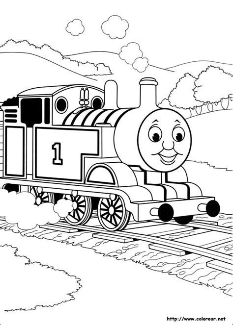 thomas birthday coloring pages dibujos para colorear de thomas y sus amigos