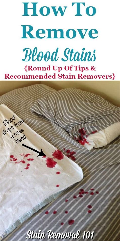 How To Get Blood Stains Out Of Mattress by Best 25 Remove Blood Stains Ideas On Stain