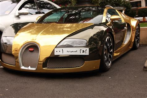 All Gold Bugatti Gold Bugatti Veyron Mike Murray Flickr