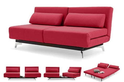 red futon red modern sleeper sofa apollo red futon couch the