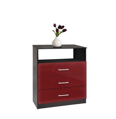Freedom Drawers by Freedom Dresser Chest Of 3 Drawers With Open Space