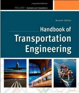 Traffic Engineering Handbook 7ed transportation depth suggested references