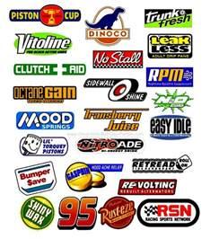 Lightning Car Logo Disney Cars Sponsor Logos Group Pic Jpg