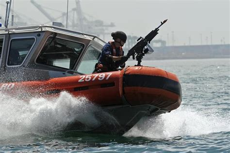 boat accessories los angeles coast guard would play a role in dod s north korea