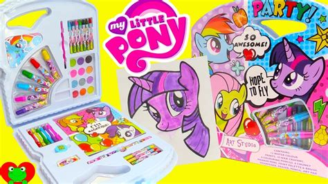 my pony painting my pony kit water colors painting twilight