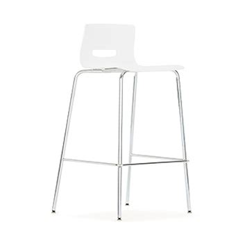 Allermuir Casper Bar Stool by Cs5bs Casper Bar Stool With Plastic Seat And Back Without