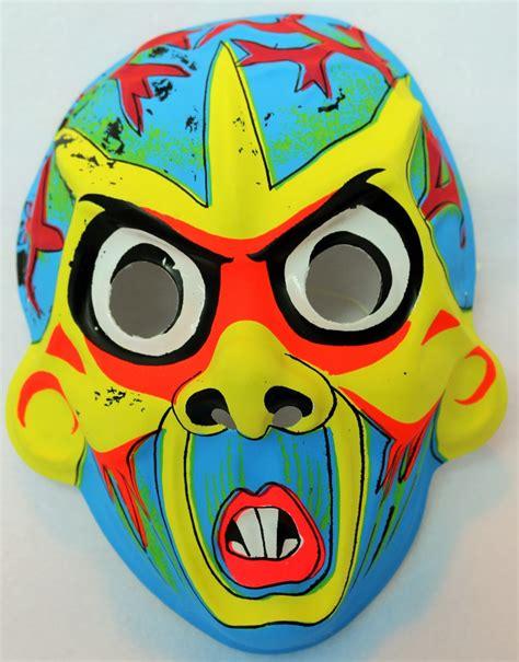 Loz Block Mickey Captai America Costume Large vintage mask costume