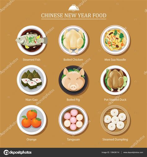 how to make new year treats food for new year stock vector 169 kaisorn4 138436114