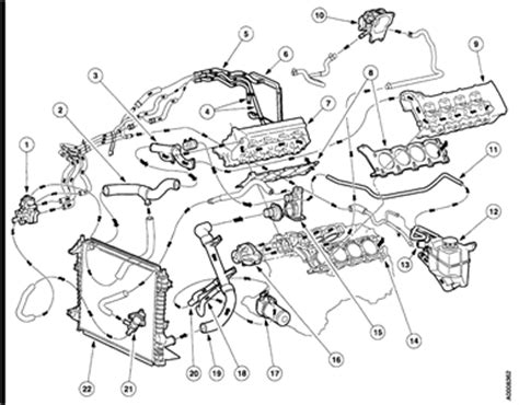 2002 ford taurus cooling system diagram need a diagram 2000 taurus cooling system fixya