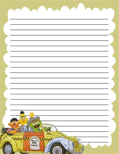 Printable Elmo Stationary | 884 best images about stationary lined on pinterest