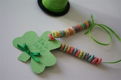 st patricks day kid crafts shamrock toddler craft blissful