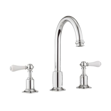 3 hole taps bathroom belgravia lever basin 3 hole set chrome in basin taps