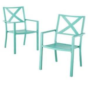turquoise patio chairs buy thresholdtm linden 2 sling patio motion dining