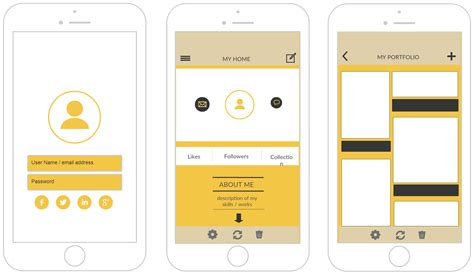 app design template iphone mockup templates to design iphone applications