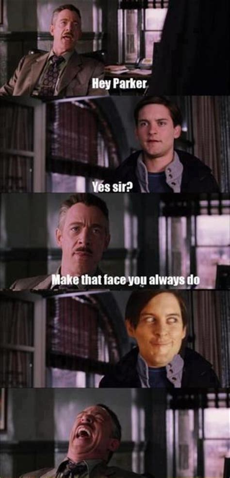 Peter Parker Memes - haha moment peter parker meme derp