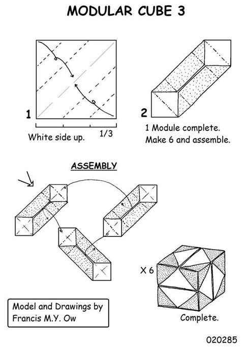 How To Make A Paper Moving Cube - 1000 images about origami cubes on origami