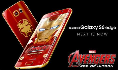 samsung s6 edge marvel themes someone paid thousands for the iron man edition samsung