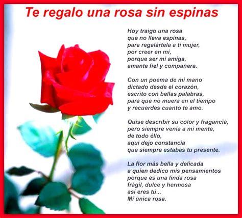 te regalo una rosa la mas hermosa la mas bella de todas imagenes de amor para mi novia con frases lindas frases