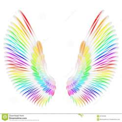 colored wings wings stock illustration image 56794028