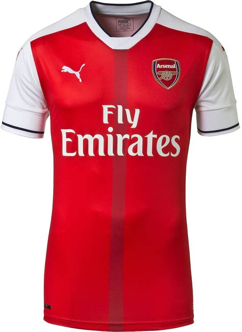 Arsenal Home Season arsenal 16 17 home kit released footy headlines