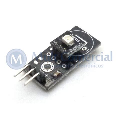 shield de sensor ultravioleta  arduino multcomercial
