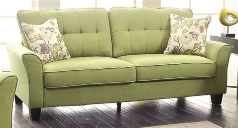 green fabric sofa claire green fabric sofa from furniture of america