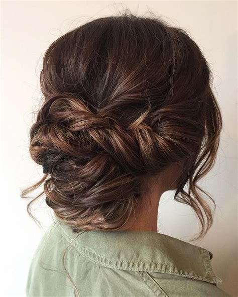 Hairstyle Updo by Best 25 Low Updo Hairstyles Ideas On