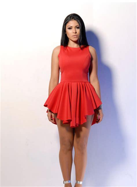 Dress Spandek fashion bandage dress polyester dress
