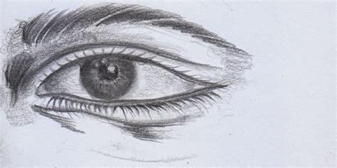 cara mudah menggambar mata drawing pencil kreatif berkarya network