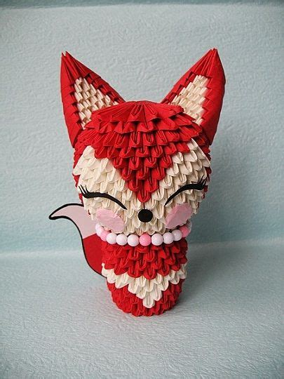 Easy 3d Origami - 3d origami fox origami magic