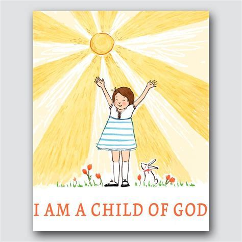 Sarah Jane Studios   I am a Child of God   Latter Day Home