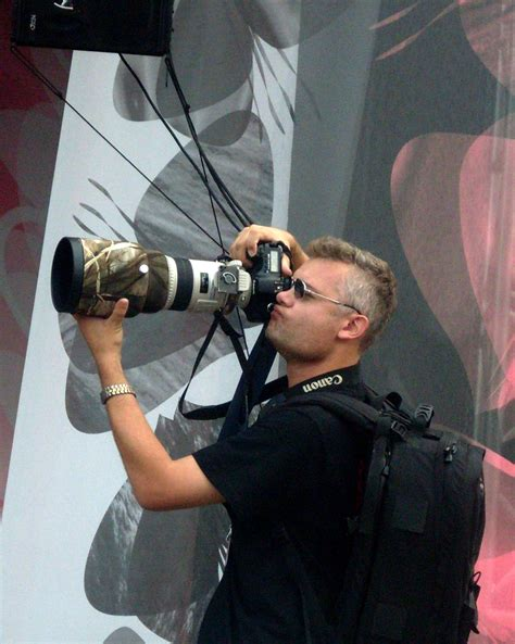 Press And Media Photographer On File Press Photographer With Mammoth Lens At Iii Meeting Of Fans Of The Tv Series M