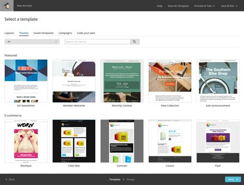 Mailchimp Create Template From Caign by Admedia Ad Network Affiliate Advertising Solutions