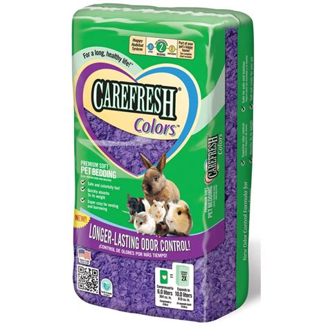 small animal bedding absorption co carefresh purple small animal bedding 10