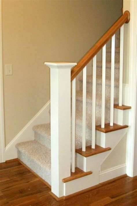 new stair banister stairs stairs in residential homes pinterest painted