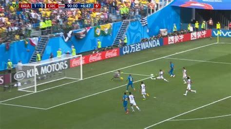 brasil vs costa rica resumen resultado y goles mundial