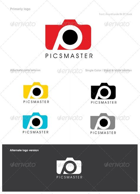 photography logo template 15 creative affordable photography logo psd buy