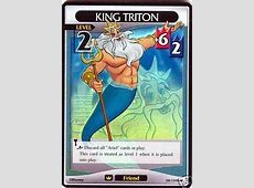 Card:King Triton - Kingdom Hearts Wiki, the Kingdom Hearts ... Hearts Card Game