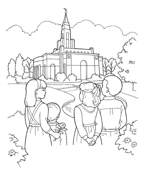 lds coloring pages lds primary coloring pages coloring home