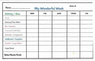 Behavior report for preschool preschool daily report card template