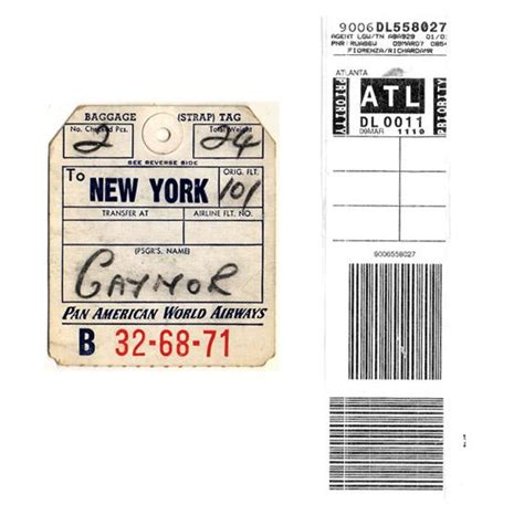 american airlines printable luggage tags airline baggage tags how their brilliant design gets bags