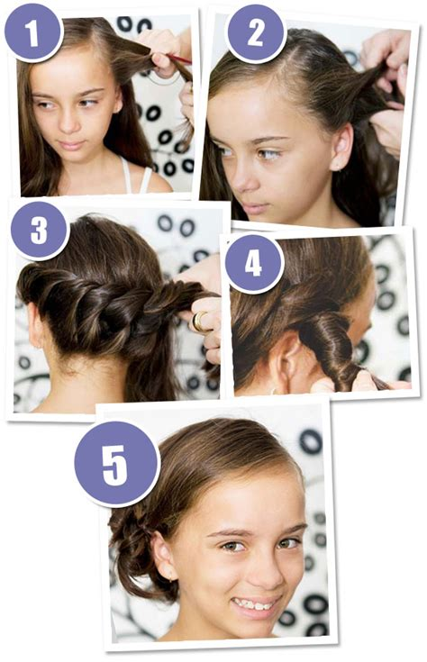 3 quick and easy hairstyles your girl will love   Bub Hub