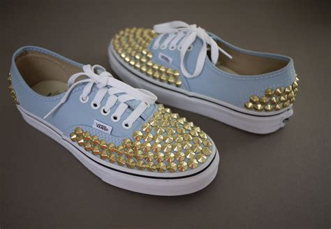diy studs on shoes diy vans spikes gato hype
