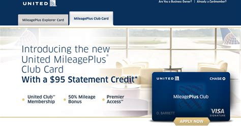chase united mileageplus club card details released inacentscom